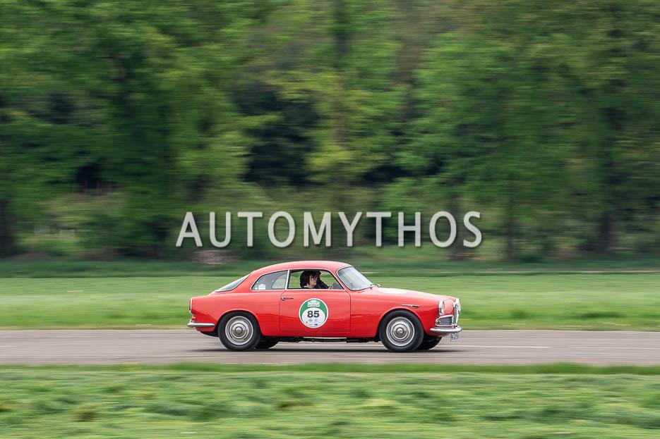 Automythos | 7. Bodensee Klassik 2018 | 85 | Carsten Möller & Uta Möller | Alfa Romeo Giulietta Sprint Veloce Coupé