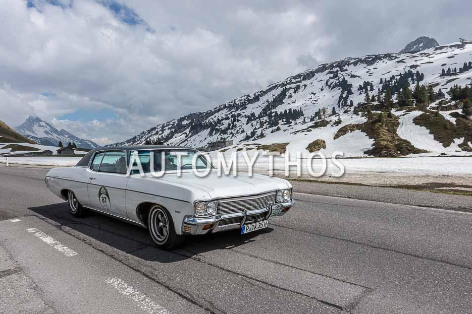 Automythos | 7. Bodensee Klassik 2018 | 87 | Peter Klink & Franziska Türk | Chevrolet Impala