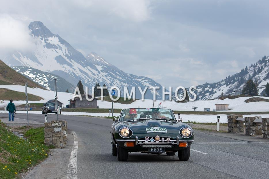 Automythos | 7. Bodensee Klassik 2018 | 89 | Romain Elvinger & Andrée Hilger | Jaguar E-Type Series 2 Roadster
