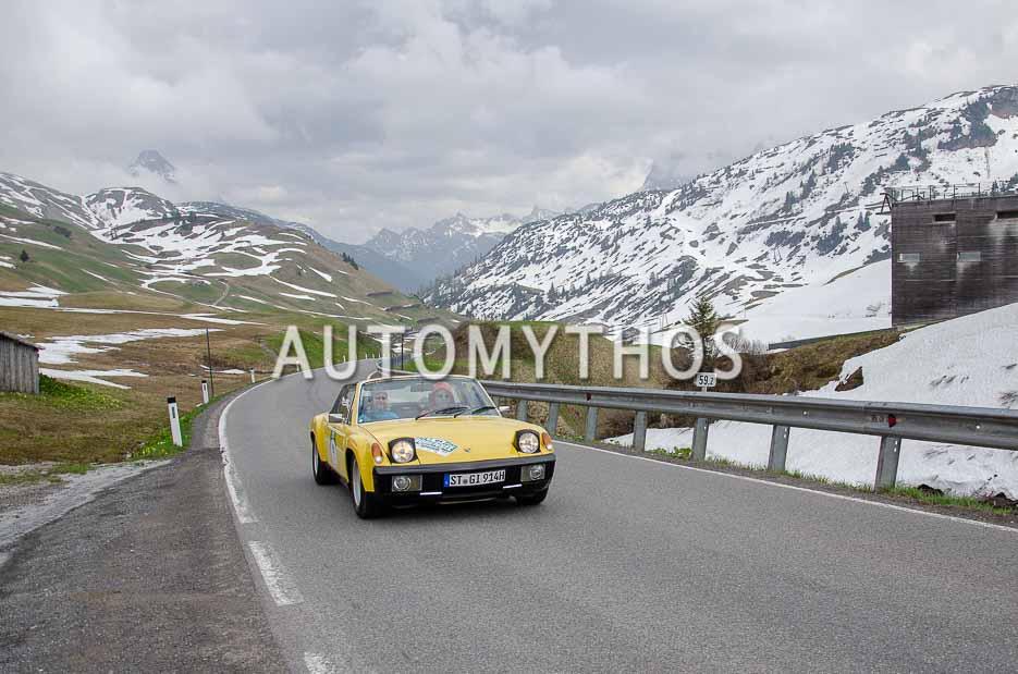 Automythos   7. Bodensee Klassik 2018   91   Thomas Groschek & Anke Groschek   Porsche 914/6 GT