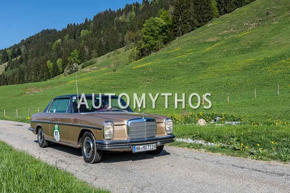 Automythos | 7. Bodensee Klassik 2018 | 97 | Matthias Urbach & Stefan Henning | Mercedes-Benz 250 CE