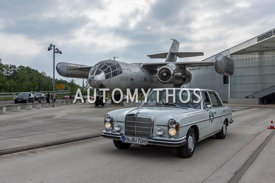 Automythos | 7. Bodensee Klassik 2018 | 99 | Dr. Malte Maurer & Sylvia Reinefeld | Mercedes-Benz 300 SEL 6.3