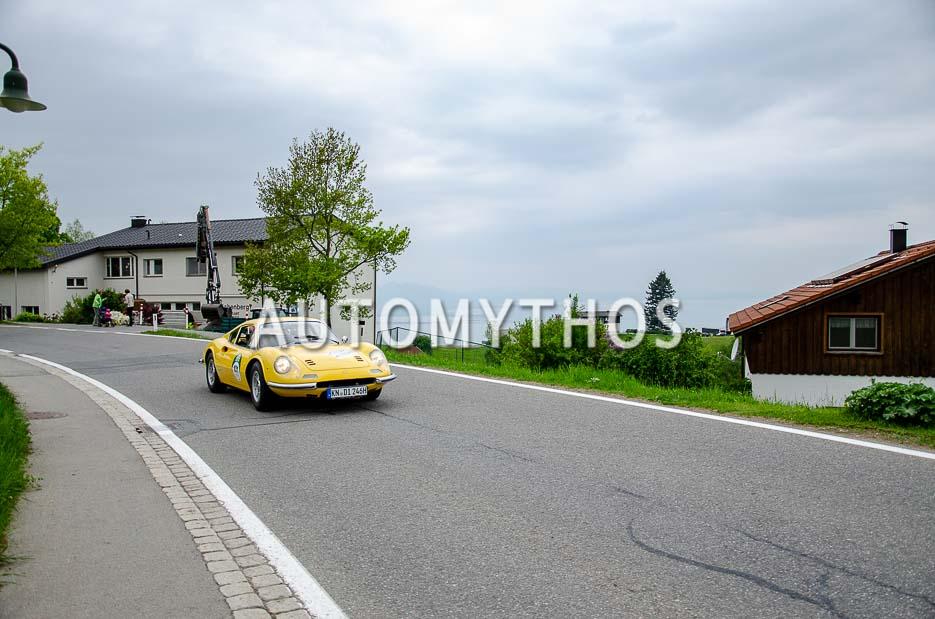 Automythos | 7. Bodensee Klassik 2018 | 101 | Nikolai Burkart & Magdalena Eilers | Ferrari Dino 246