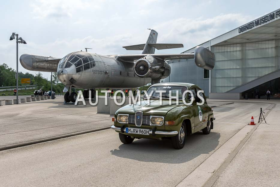 Automythos | 7. Bodensee Klassik 2018 | 105 | Robert Wagenheimer & Gerd Wagenheimer | Saab 96
