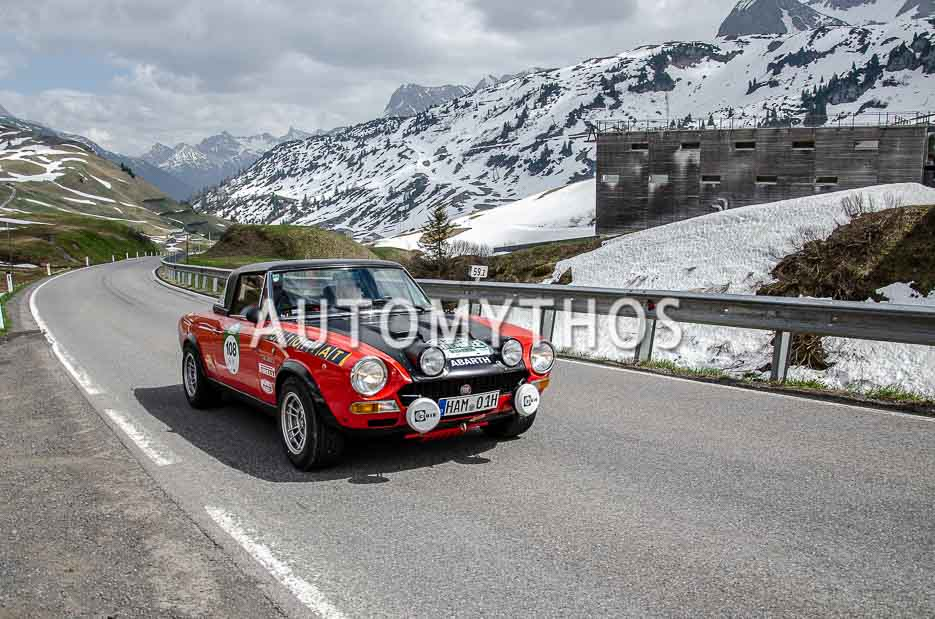 Automythos | 7. Bodensee Klassik 2018 | 108 | Heike Honermeyer & Bernd Honermeyer | Fiat 124 CSA Abarth Rallye