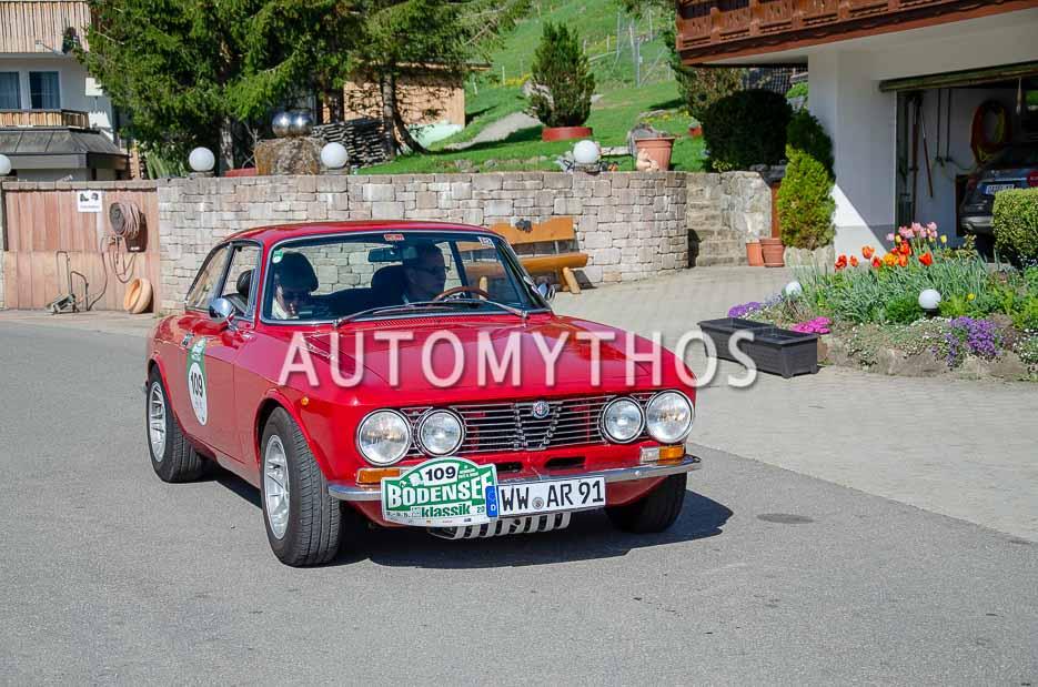Automythos | 7. Bodensee Klassik 2018 | 109 | Rolf Kilian & Christa Kilian | Alfa Romeo 2000 GT Veloce