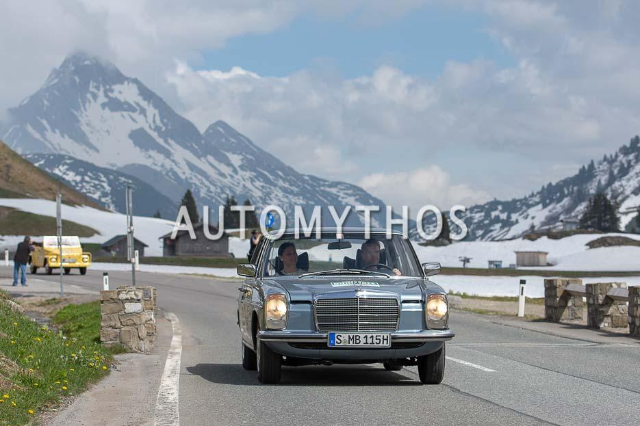 Automythos | 7. Bodensee Klassik 2018 | 115 | Frank B. Meyer & Lina van de Mars | Mercedes-Benz 230.4