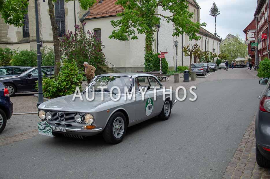 Automythos | 7. Bodensee Klassik 2018 | 118 | Felice Strüby & Mario Pianezzi | Alfa Romeo Giulia 1600 GT Junior