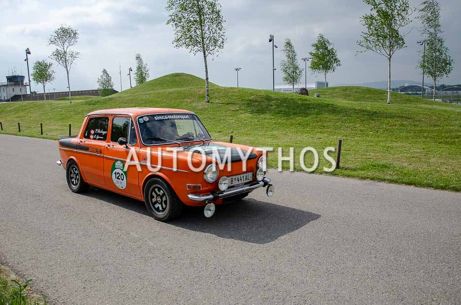 Automythos | 7. Bodensee Klassik 2018 | 120 | Peter Heidegger & Carolin Gomm | Simca 1000 Rallye 2