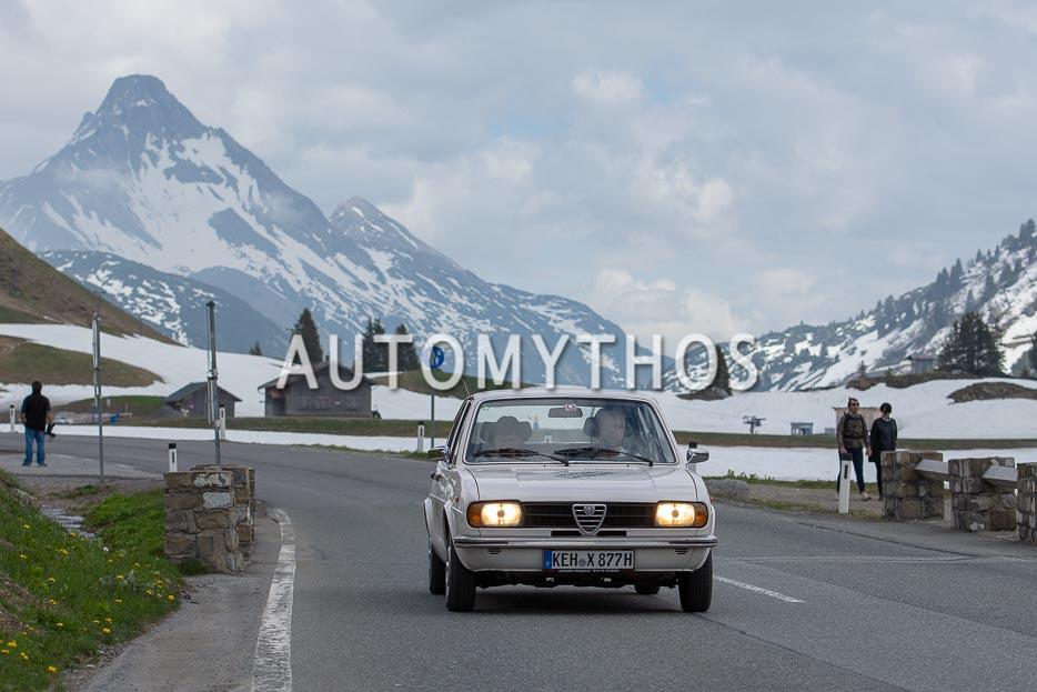 Automythos | 7. Bodensee Klassik 2018 | 122 | Michael Röhr & Hildegard Röhr | Alfa Romeo Alfasud 1.5