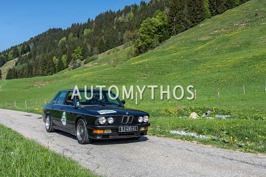 Automythos | 7. Bodensee Klassik 2018 | 123 | Farid Kandil & Christoph Wolf | BMW M535i E28