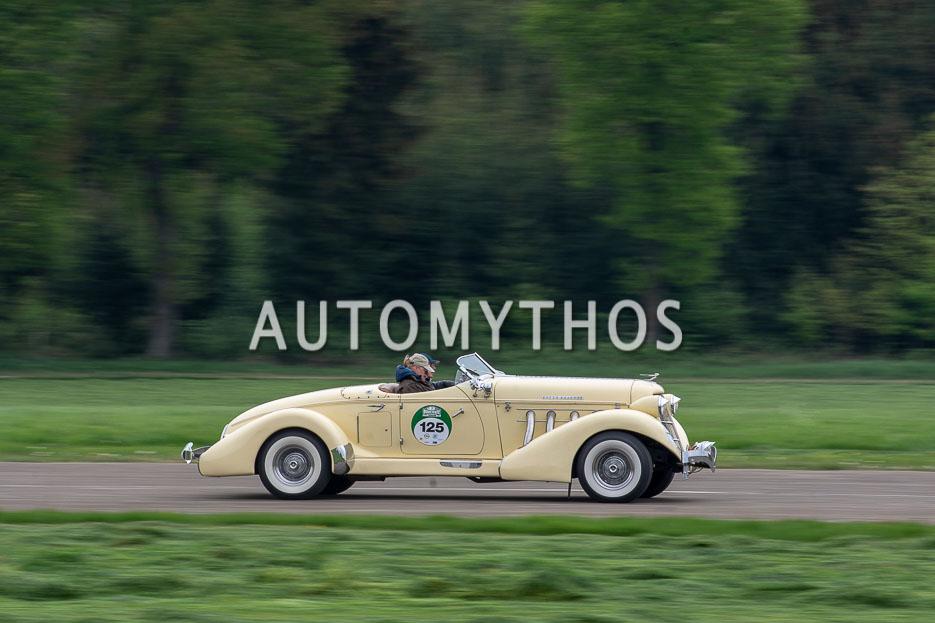 Automythos | 7. Bodensee Klassik 2018 | 125 | Christian Schoch & Meike Haferkamp | Auburn Speedster 876 Boattail