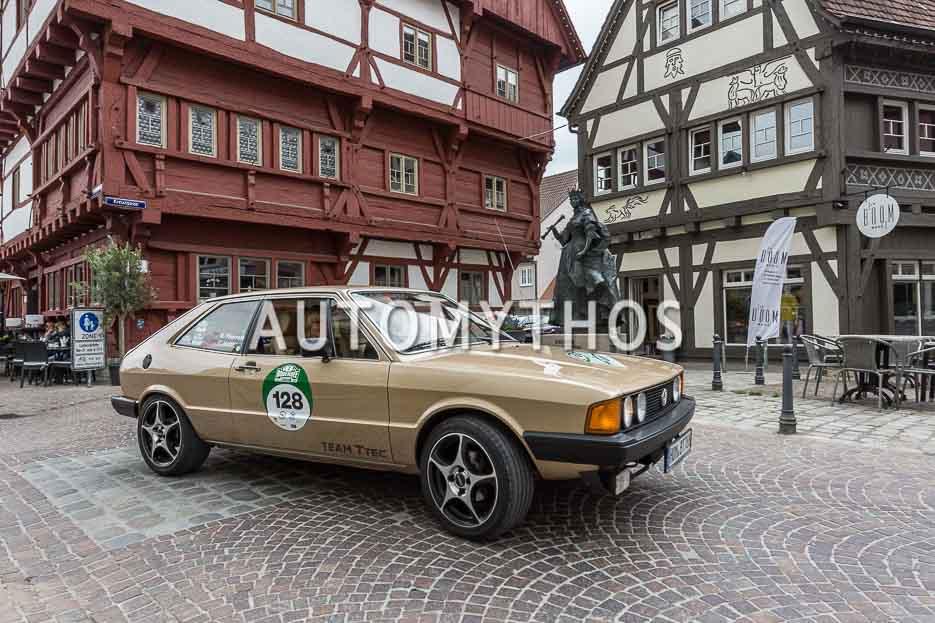 Automythos | 7. Bodensee Klassik 2018 | 128 | Bernd Therre & Tamara Veith | Volkswagen Scirocco I