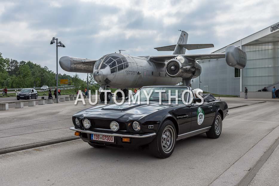 Automythos | 7. Bodensee Klassik 2018 | 131 | Wolfgang Lachermund & Margot Schneider | Aston Martin V8 Volante