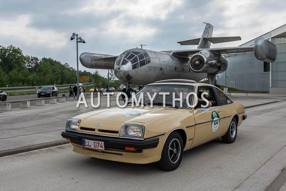 Automythos | 7. Bodensee Klassik 2018 | 133 | Manfred Geigl & Ute Meyer | Opel Manta B 2.0 E