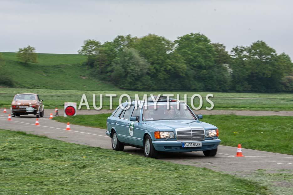 Automythos | 7. Bodensee Klassik 2018 | 135 | Fred Oehmke & Charlotte Oehmke | Mercedes-Benz 500 SEL
