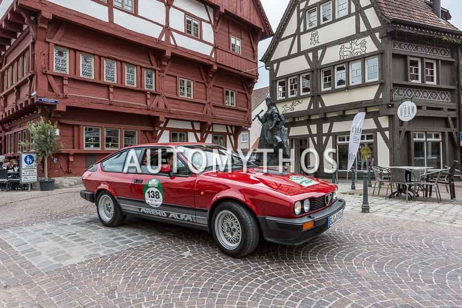 Automythos | 7. Bodensee Klassik 2018 | 138 | Stefan Fleck & Nele Fleck | Alfa Romeo GTV6