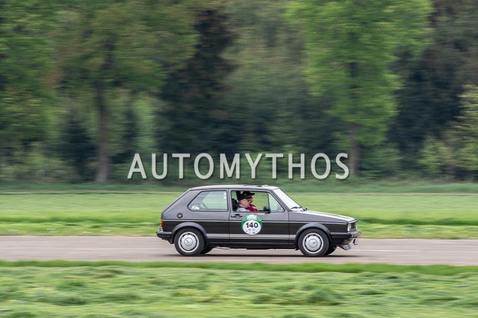 Automythos | 7. Bodensee Klassik 2018 | 140 | Kathrin Maxheimer & Werner Maxheimer | Volkswagen Golf I GTI Pirelli