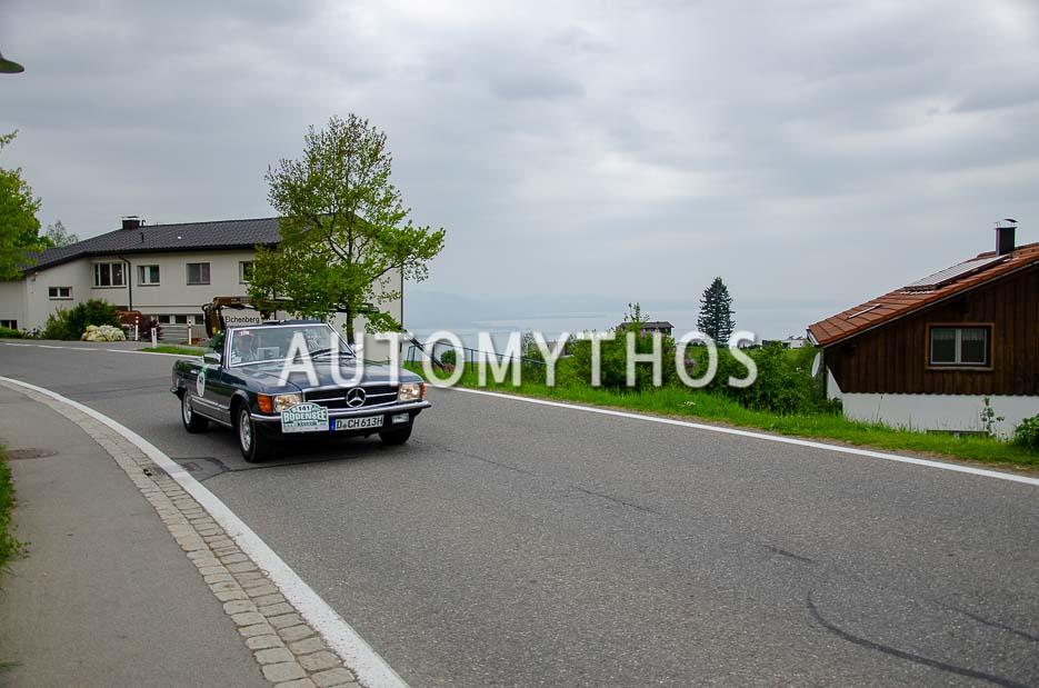 Automythos | 7. Bodensee Klassik 2018 | 141 | Christoph Hilser & Dr. Joachim Weingärtner | Mercedes-Benz 280 SL