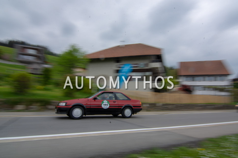 Automythos | 7. Bodensee Klassik 2018 | 146 | Isolde Holderied & Tomas Hirschberger | Toyota Corolla Coupé