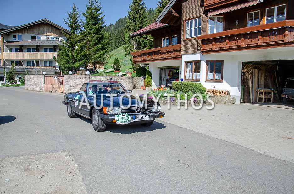 Automythos | 7. Bodensee Klassik 2018 | 147 | Stefan Grewe & Andy Coray | Mercedes-Benz 380 SL
