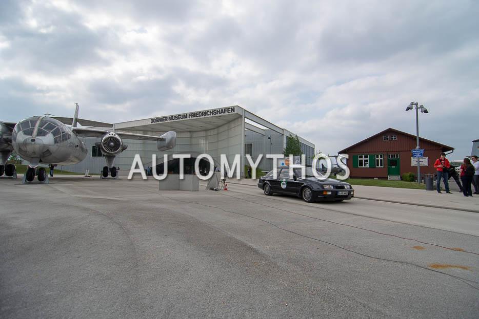 Automythos | 7. Bodensee Klassik 2018 | 150 | Michael Iggena & Hartwig Petersen | Ford Sierra Cosworth RS
