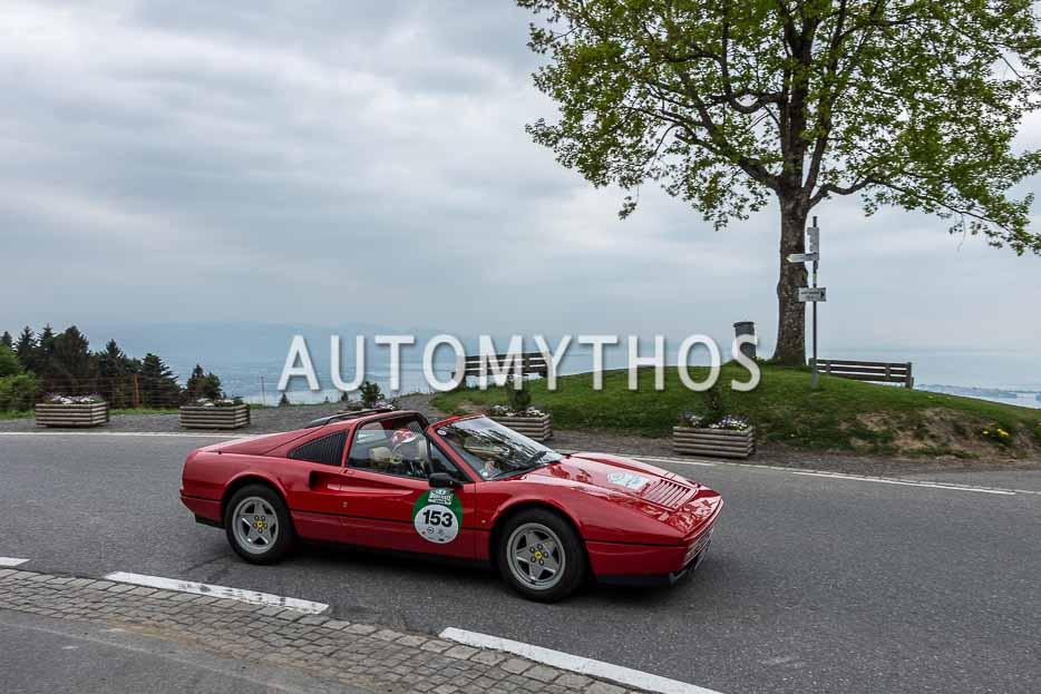 Automythos | 7. Bodensee Klassik 2018 | 153 | Armin Rössner & Dr. Leonore Jahn | Ferrari 328 GTS