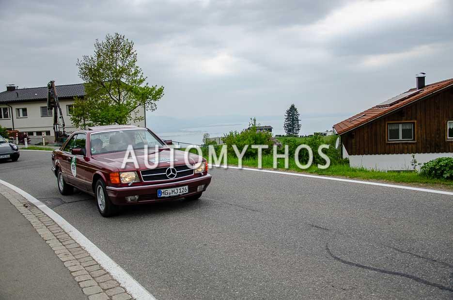 Automythos | 7. Bodensee Klassik 2018 | 159 | Matthias Junges & Brigitte Junges | Mercedes-Benz 500 SEC