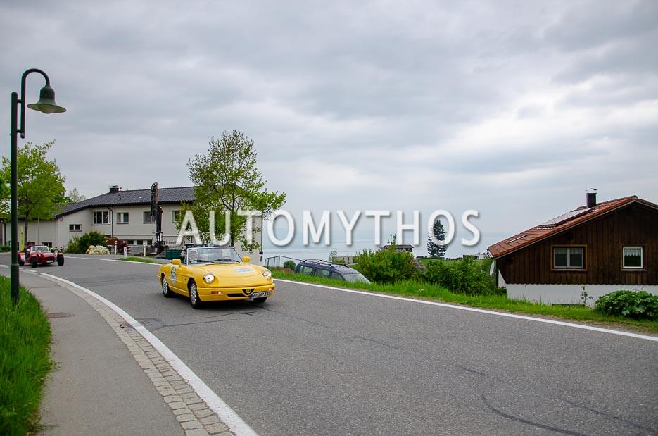 Automythos   7. Bodensee Klassik 2018   165   Martin Pfenning & Ute Pfenning   Alfa Romeo Spider