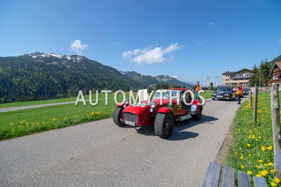 Automythos | 7. Bodensee Klassik 2018 | 166 | Mario Perini & Marianne Perini | Caterham Super Seven