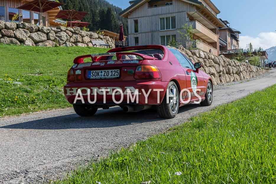 Automythos | 7. Bodensee Klassik 2018 | 176 | Jürgen Zobel & Helga Zorn | Honda CRX del Sol