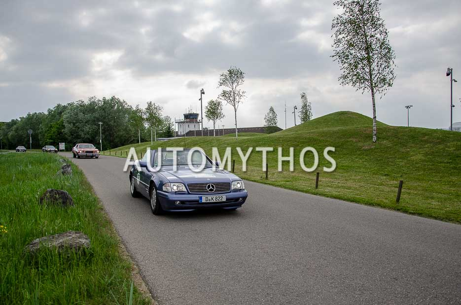 Automythos   7. Bodensee Klassik 2018   177   Daniel Klatt & Simon Baumann   Mercedes-Benz SL 320