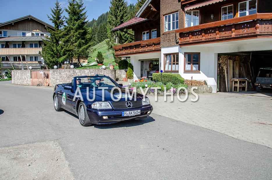Automythos | 7. Bodensee Klassik 2018 | 178 | Wolf-Achim Stratmann & Klemens Graser | Mercedes-Benz SL 320