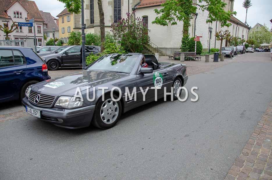 Automythos | 7. Bodensee Klassik 2018 | 180 | Stefan Könner & Annett Könner-Sodemann | Mercedes-Benz SL 320