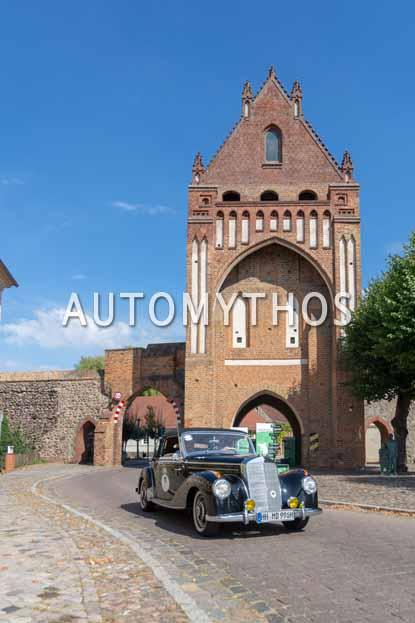 Automythos | 12. Hamburg Berlin Klassik 2019 | 11 | Christian Düllberg & Manfred Düllberg | Mercedes 220 Cabriolet A