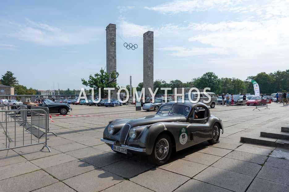Automythos | 12. Hamburg Berlin Klassik 2019 | 15 | Dr. Volker Dreve & Christian Heumann | Jaguar XK120 FHC