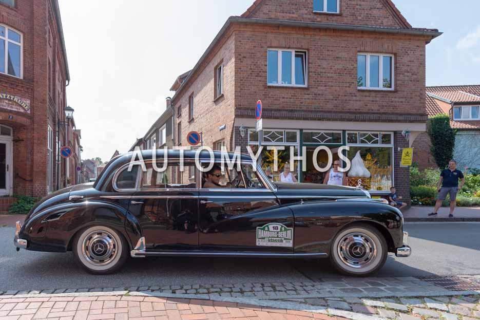Automythos | 12. Hamburg Berlin Klassik 2019 | 18 | Diether Rodatz & Irin Rodatz | Mercedes 300 B