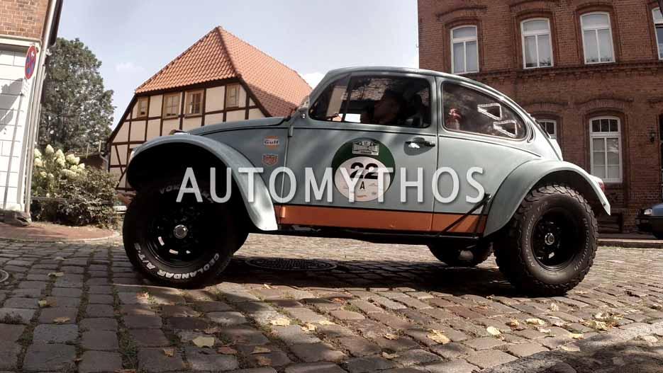 Automythos | 12. Hamburg Berlin Klassik 2019 | 22 | Johannes Klug & Martin Wirkijowski | VW Käfer (Baja Bug)