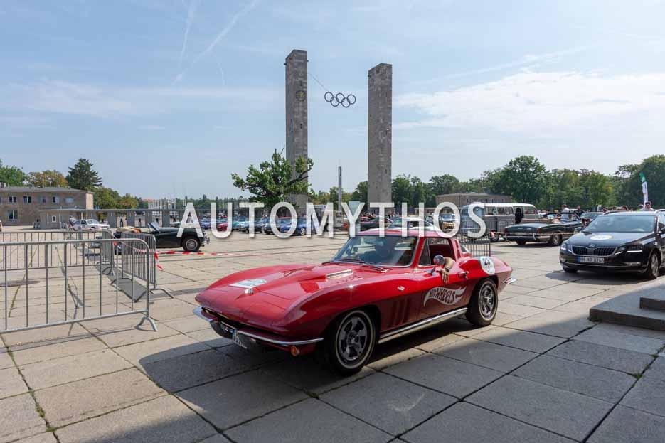 Automythos | 12. Hamburg Berlin Klassik 2019 | 23 | Sidney Hoffmann & Robin Hornig | Chevrolet Corvette