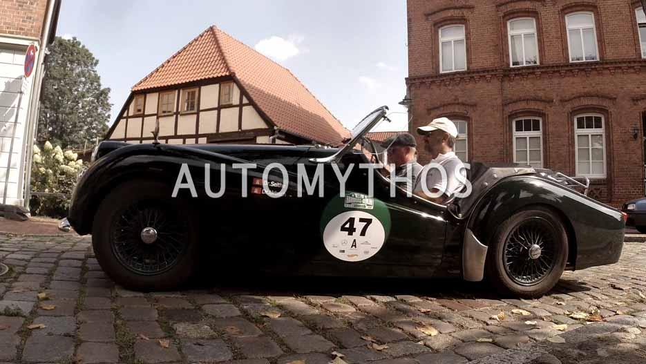 Automythos | 12. Hamburg Berlin Klassik 2019 | 47 | Andreas Seithe & Matthias Urbach | Triumph TR3A