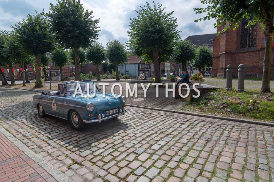 Automythos | 12. Hamburg Berlin Klassik 2019 | 52 | Christian Verschl & Dieter Landenberg | Volkswagen Typ 3 1500 Cabriolet