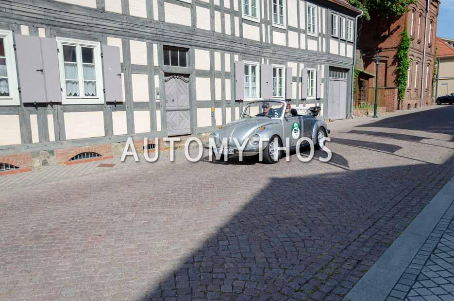 Automythos | 12. Hamburg Berlin Klassik 2019 | 55 | Macel Leifer & Michael Winkler | Volkswagen 1303 Cabriolet