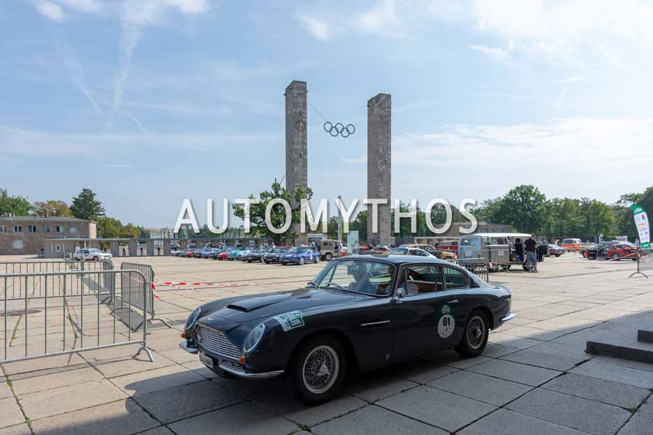 Automythos | 12. Hamburg Berlin Klassik 2019 | 61 | Jens Ruppert & Ute Ruppert | Aston Martin DB6