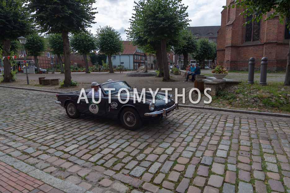 Automythos | 12. Hamburg Berlin Klassik 2019 | 65 | Marius Brune & Martin Stromberg | Triumph Spitfire Mk III