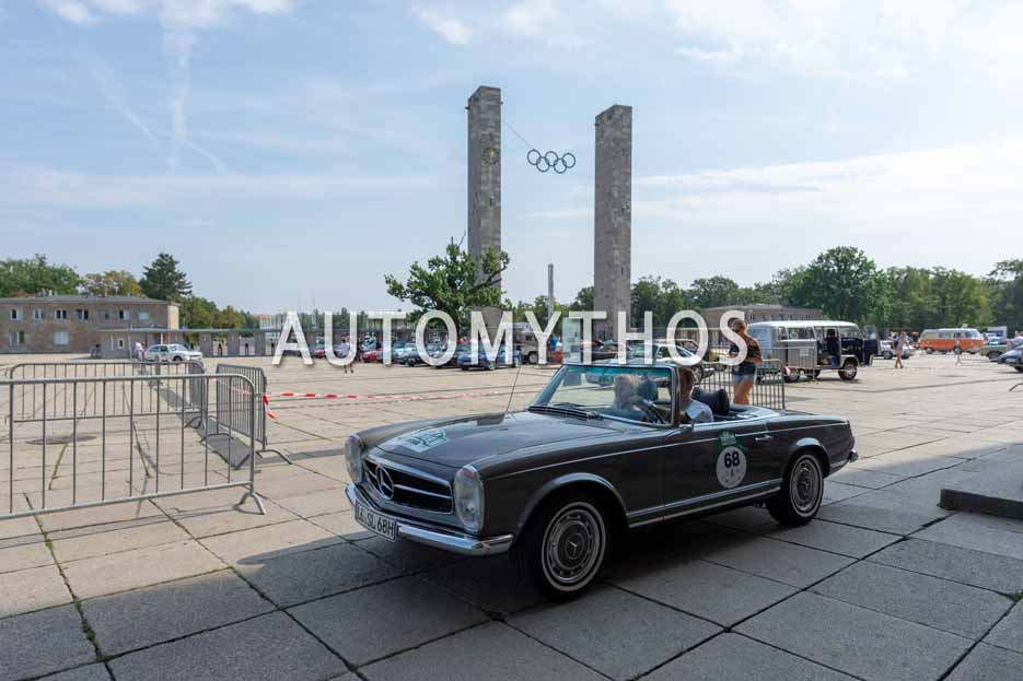 Automythos | 12. Hamburg Berlin Klassik 2019 | 68 | Jonas Gerdes & Kim Köster | Mercedes SL Pagode W113