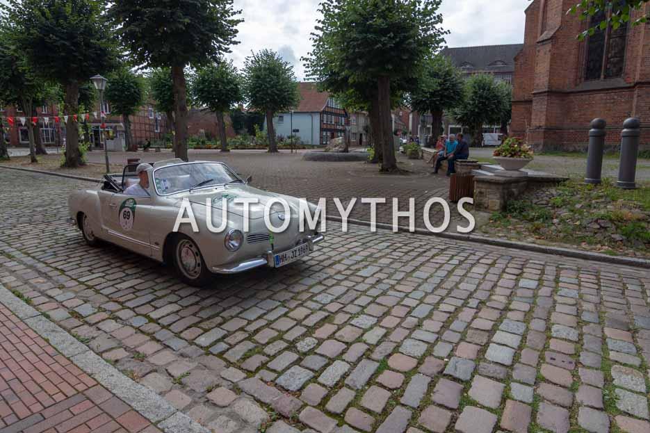 Automythos | 12. Hamburg Berlin Klassik 2019 | 69 | Joachim Zeunges & Frederik Nikolaus Zeunges | VW Karmann-Ghia