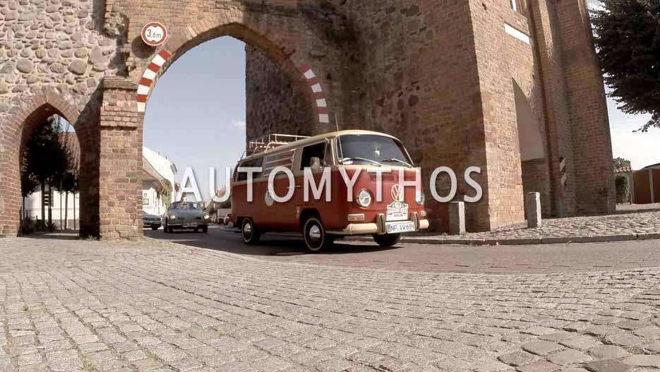 Automythos | 12. Hamburg Berlin Klassik 2019 | 75 | Norman Scotti & Lynn Scotti | Volkswagen Campingwagen (T2)