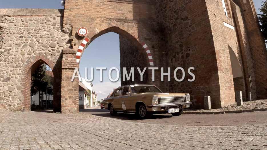 Automythos | 12. Hamburg Berlin Klassik 2019 | 77 | Günter Rubin & Marlene Vilsmeier-Rubin | Opel Diplomat B V8