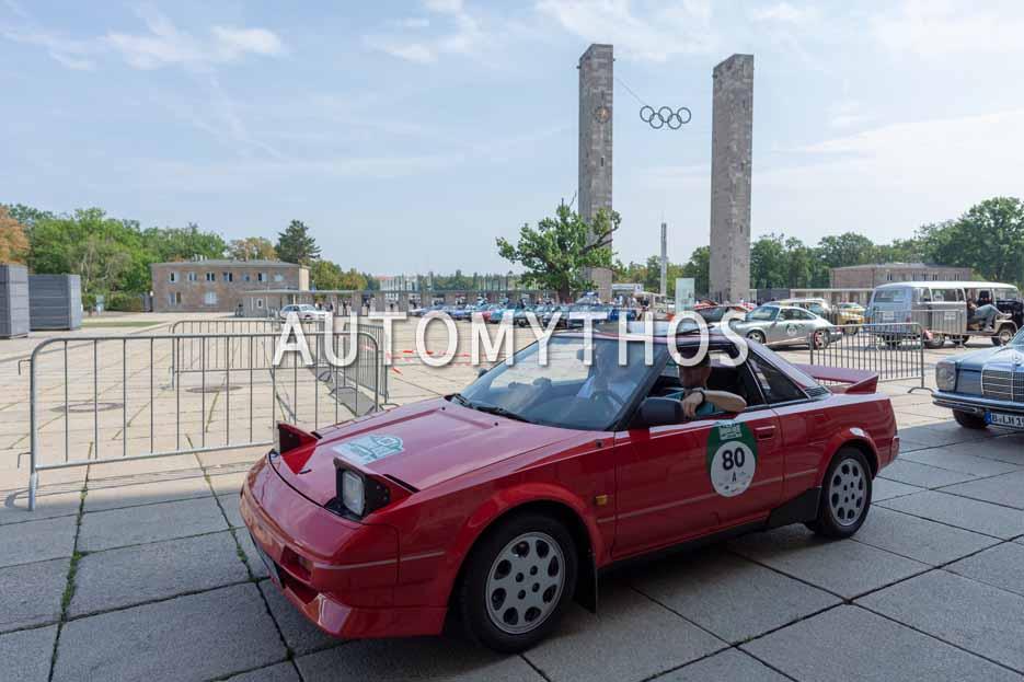 Automythos | 12. Hamburg Berlin Klassik 2019 | 80 | Markus Dancker & Tobias Dancker | Toyota MR2 W1
