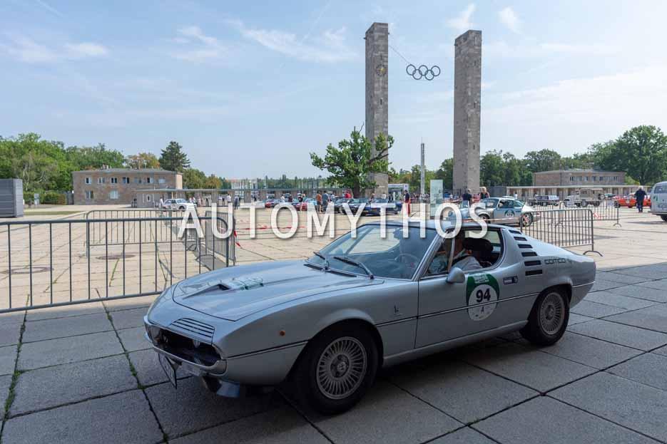 Automythos | 12. Hamburg Berlin Klassik 2019 | 94 | Marcus Keller & Silke Keller | Alfa Romeo Montreal